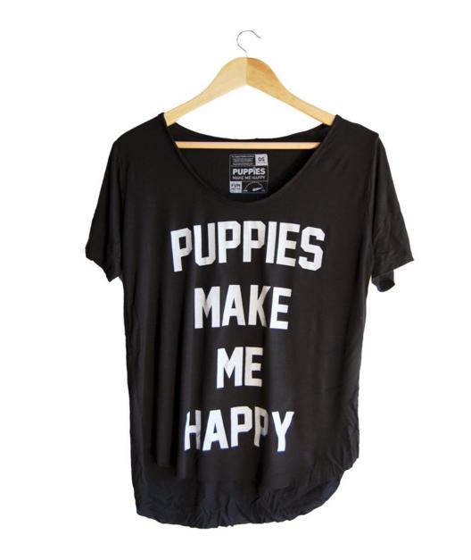 puppies make me happy
