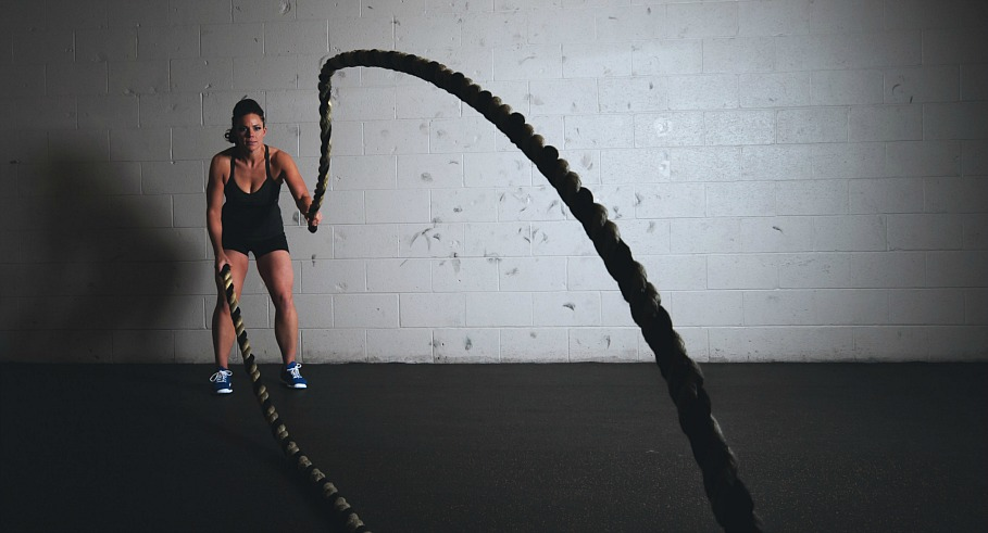 Battling Ropes Workout
