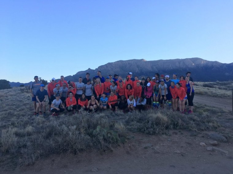 trail running group