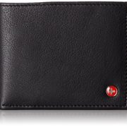 Alpine-Swiss-Mens-Leather-Flipout-ID-Wallet-Bifold-Trifold-Hybrid-0