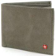 Alpine-Swiss-Mens-Leather-Flipout-ID-Wallet-Bifold-Trifold-Hybrid-0-2