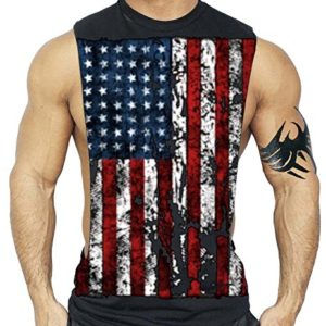 American-Flag-Muscle-Workout-T-Shirt-Bodybuilding-Tank-Top-USA-US-0