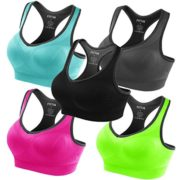 Fittin-Sports-Yoga-Bra-Padded-Seamless-High-Impact-Support-for-Workout-Fitness-Removable-Pads-0