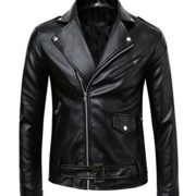 Mens-Classic-Police-Style-Faux-Leather-Motorcycle-Jacket-0-0