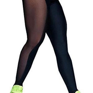 Nulibenna-Womens-Mesh-Stretchy-Workout-Sportys-Yoga-Leggings-Ninth-Pants-0
