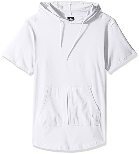 Southpole-Mens-Short-Sleeve-Hooded-Scallop-Tee-with-Fine-Twill-Detail-0