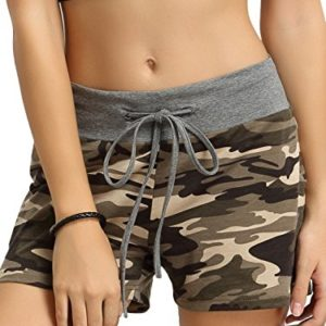 SweatyRocks-Camouflage-Womens-Workout-Yoga-Hot-Shorts-0