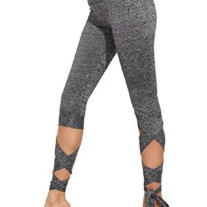 SweatyRocks-Womens-Slim-Fit-Cutout-Tie-Cuff-High-Waisted-Skinny-Workout-Leggings-Yoga-Tights-0