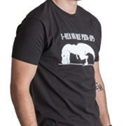 T-REX-NO-LIKE-PUSH-UPS-Funny-Work-Out-Cross-Train-Fitness-Shirt-0-2