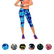 Ularmo-Womens-Printed-High-Waist-Fitness-Yoga-Stretch-Cropped-Sport-Pants-0