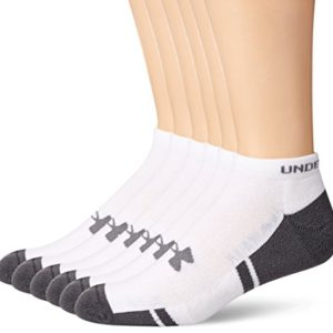 Under-Armour-Mens-Resistor-No-Show-Socks-6-Pack-0