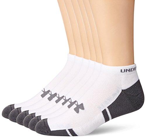Under-Armour-Mens-Resistor-No-Show-Socks-6-Pack-0