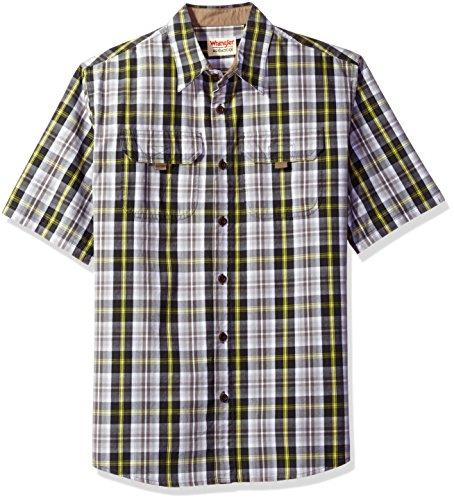 Wrangler-Authentics-Mens-Short-Sleeve-Canvas-Shirt-0