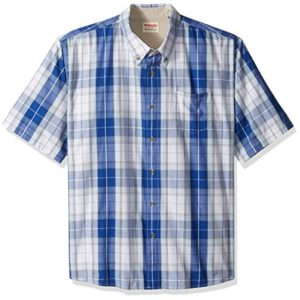 Wrangler-Mens-Big-and-Tall-Authentics-Short-Sleeve-Classic-Plaid-Shirt-0