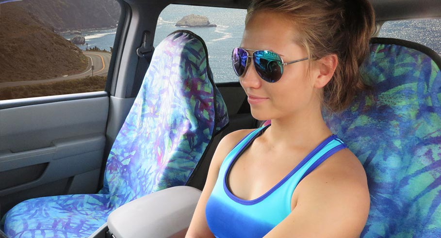 A Genius Way to Keep Sweat Off Your Car Seat Post Workout