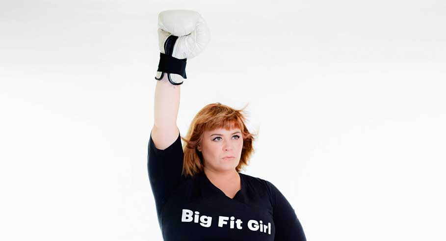 Smashing Stereotypes With Big Fit Girl
