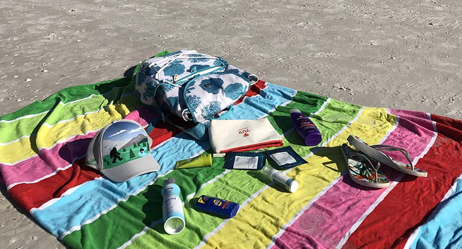 Beyond Books: What's in My Beach Bag
