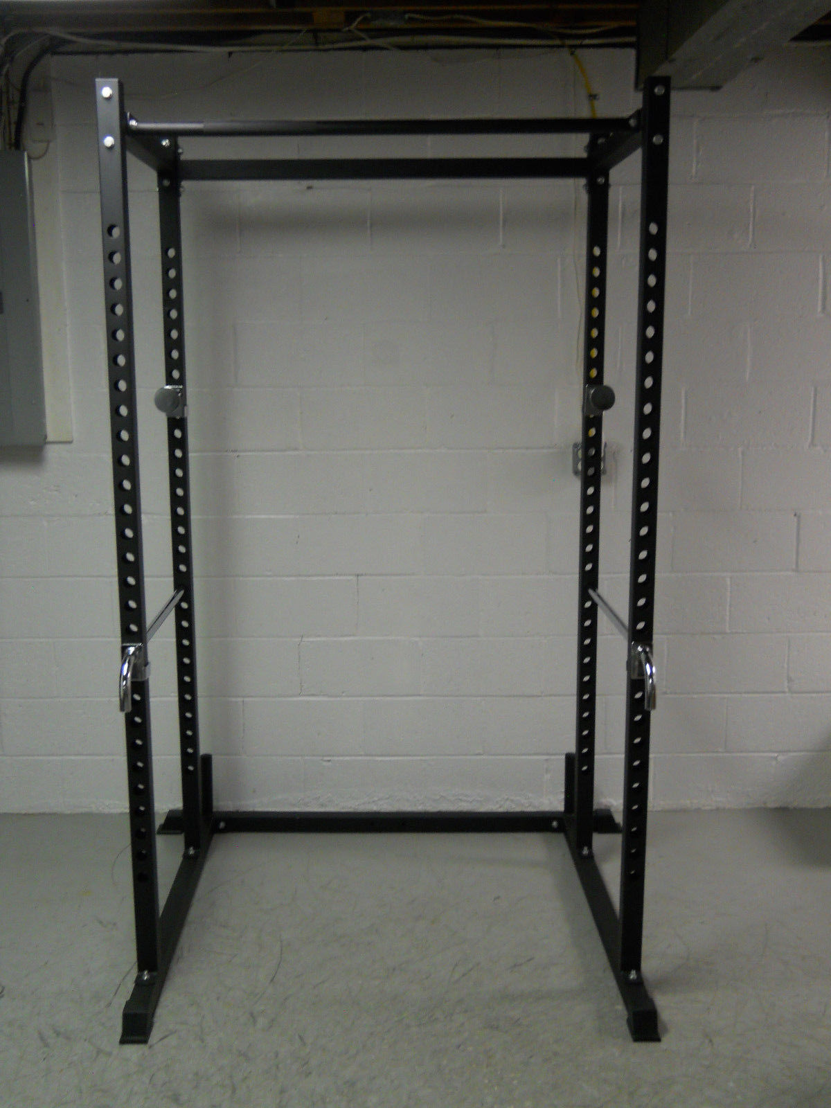 Atlas Power Rack Squat Deadlift Cage With Bench Racks Work Out Wear