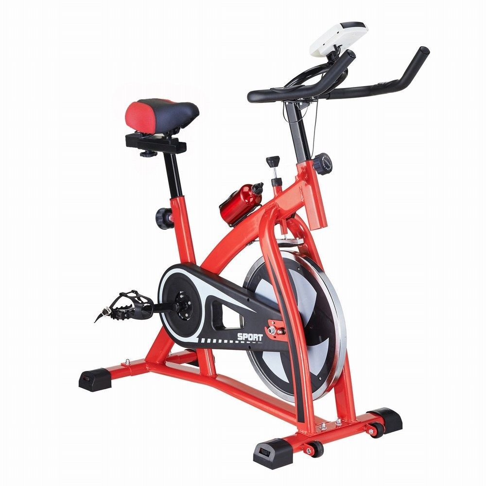 Exercise bicycle indoor bike cycling cardio adjustable gym