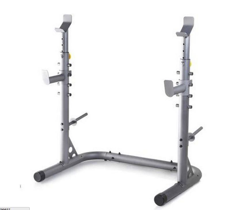 Olympic Power Lifting Rack Strength Weight Stand Squat ...