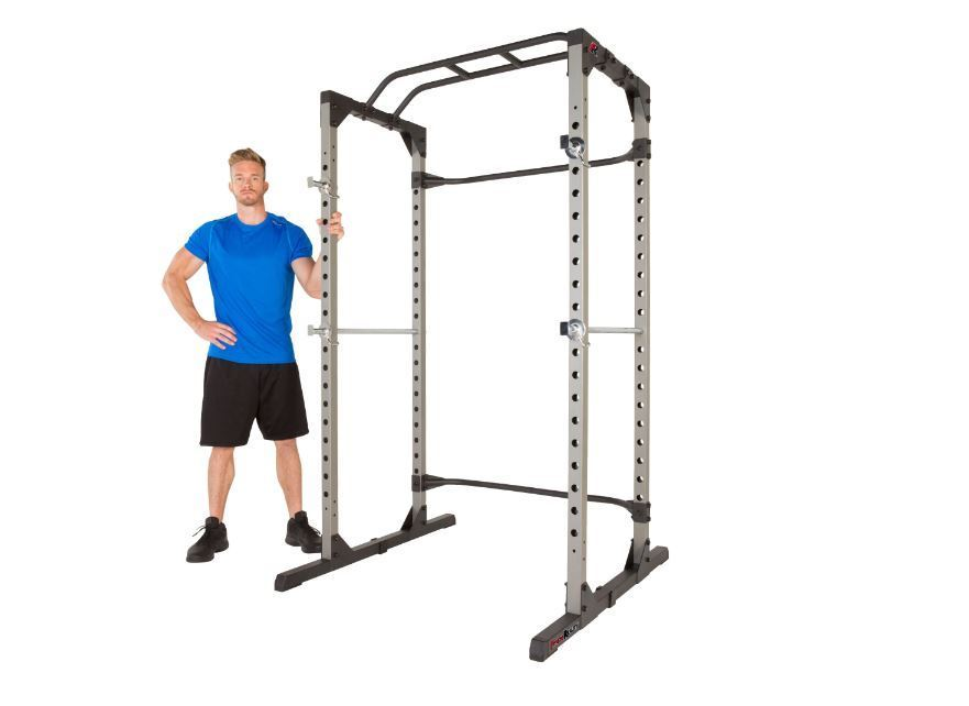 olympic squat rack cage power weight lifting bench tower. Black Bedroom Furniture Sets. Home Design Ideas