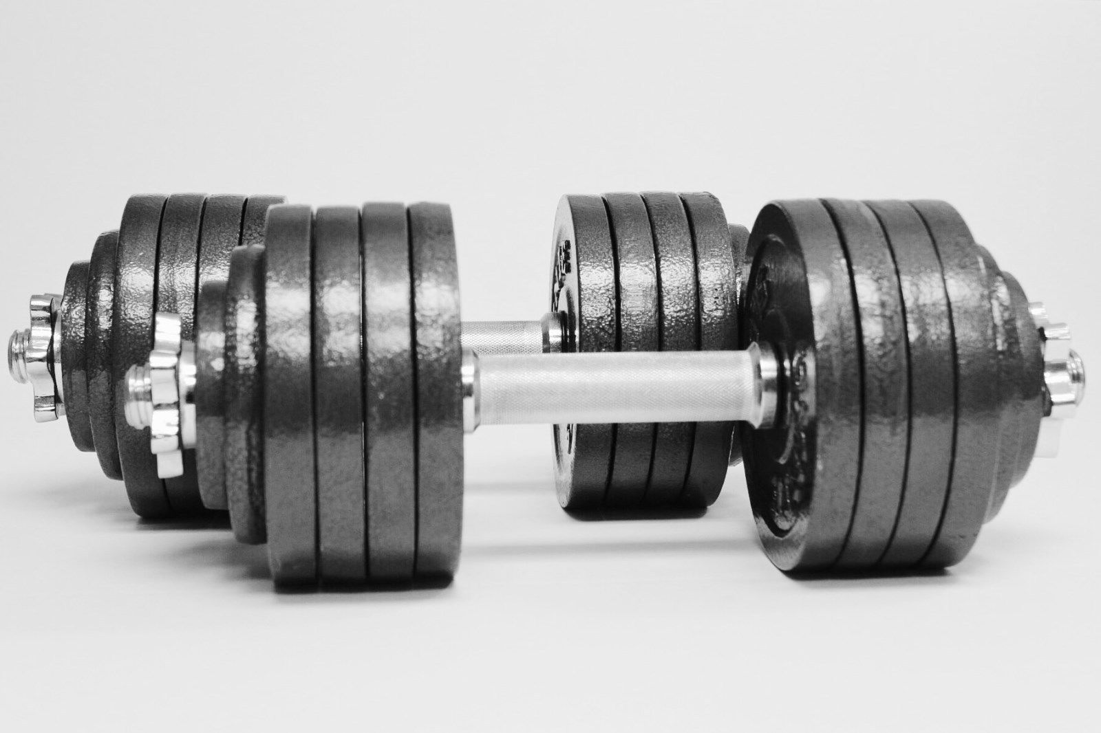 Omnie 105 Lbs Adjustable Dumbbells Fitness Weight Set Gym