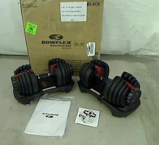 Bowflex Adjustable Dumbbells Instructions: Pair Of Bowflex Selecttech 552 Adjustable Dumbbells 100 2