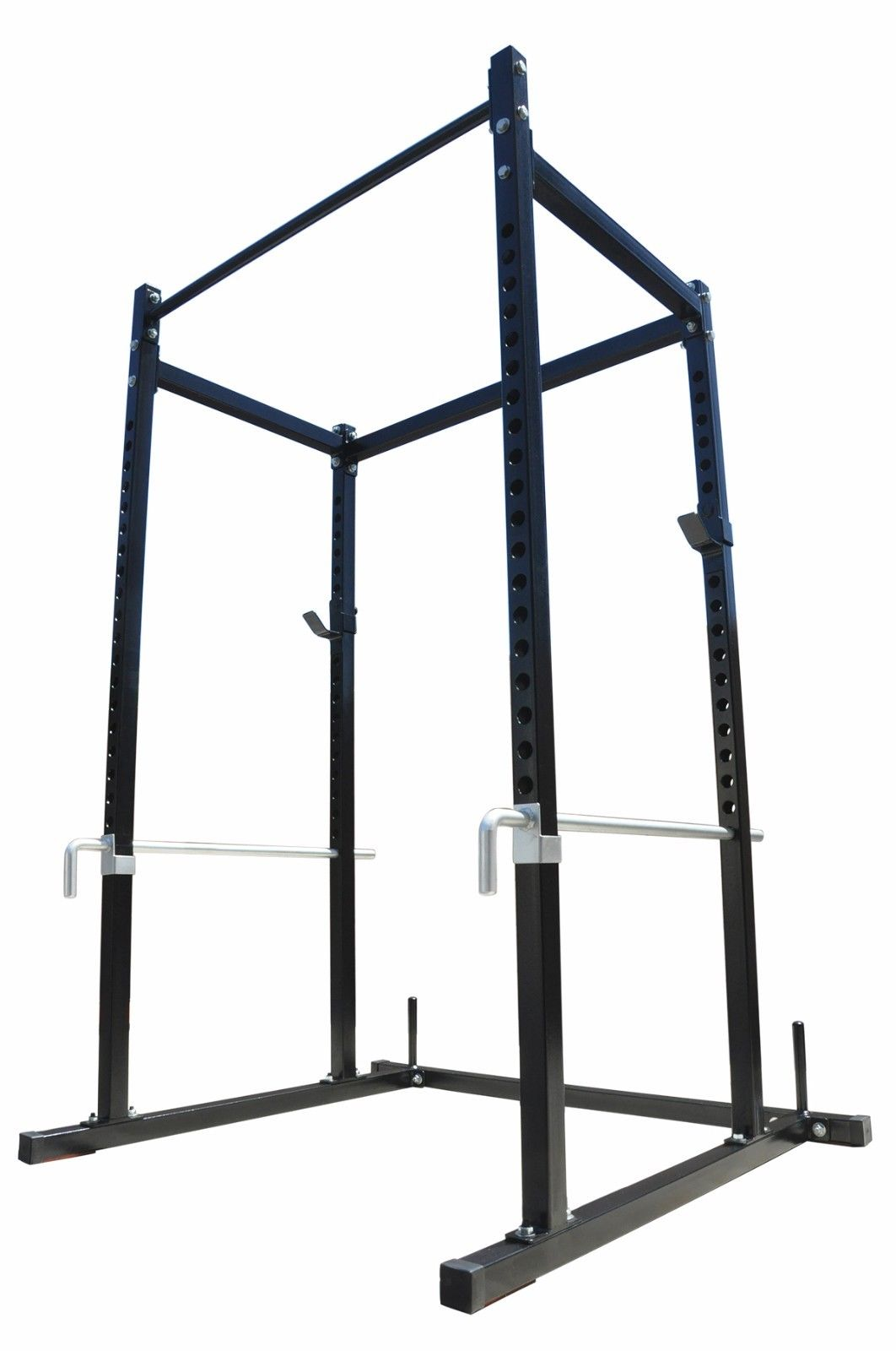 Power Squat Rack Home Gym Weight Equipment Lift Cage Pull