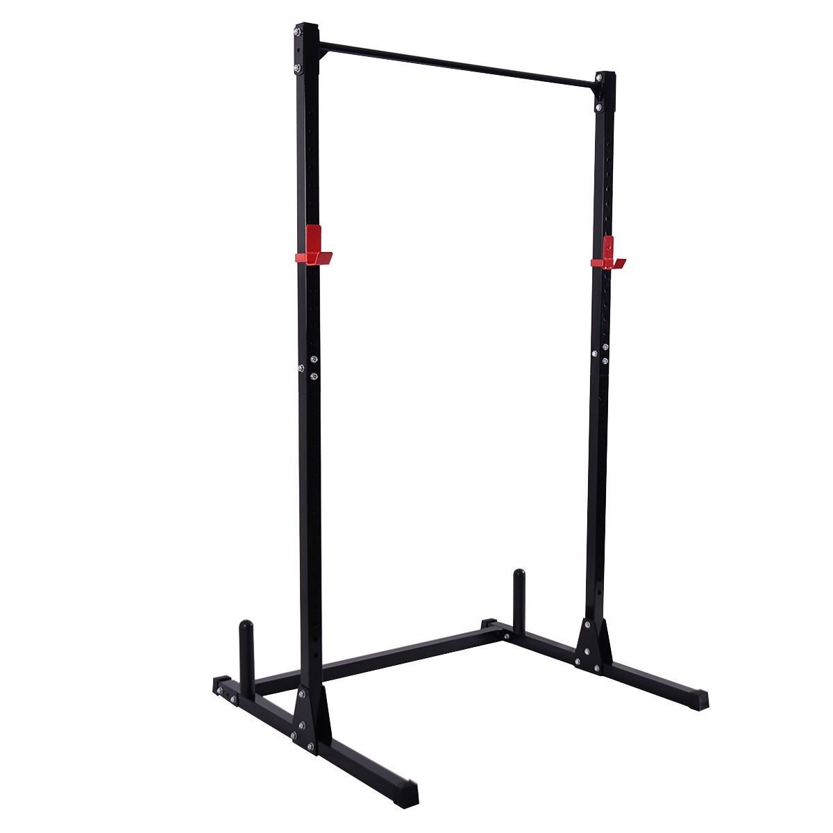 Strength Power Lifting Rack Squat Bench Deadlift Curl Pull Up Cage Stand Steel Work Out Wear