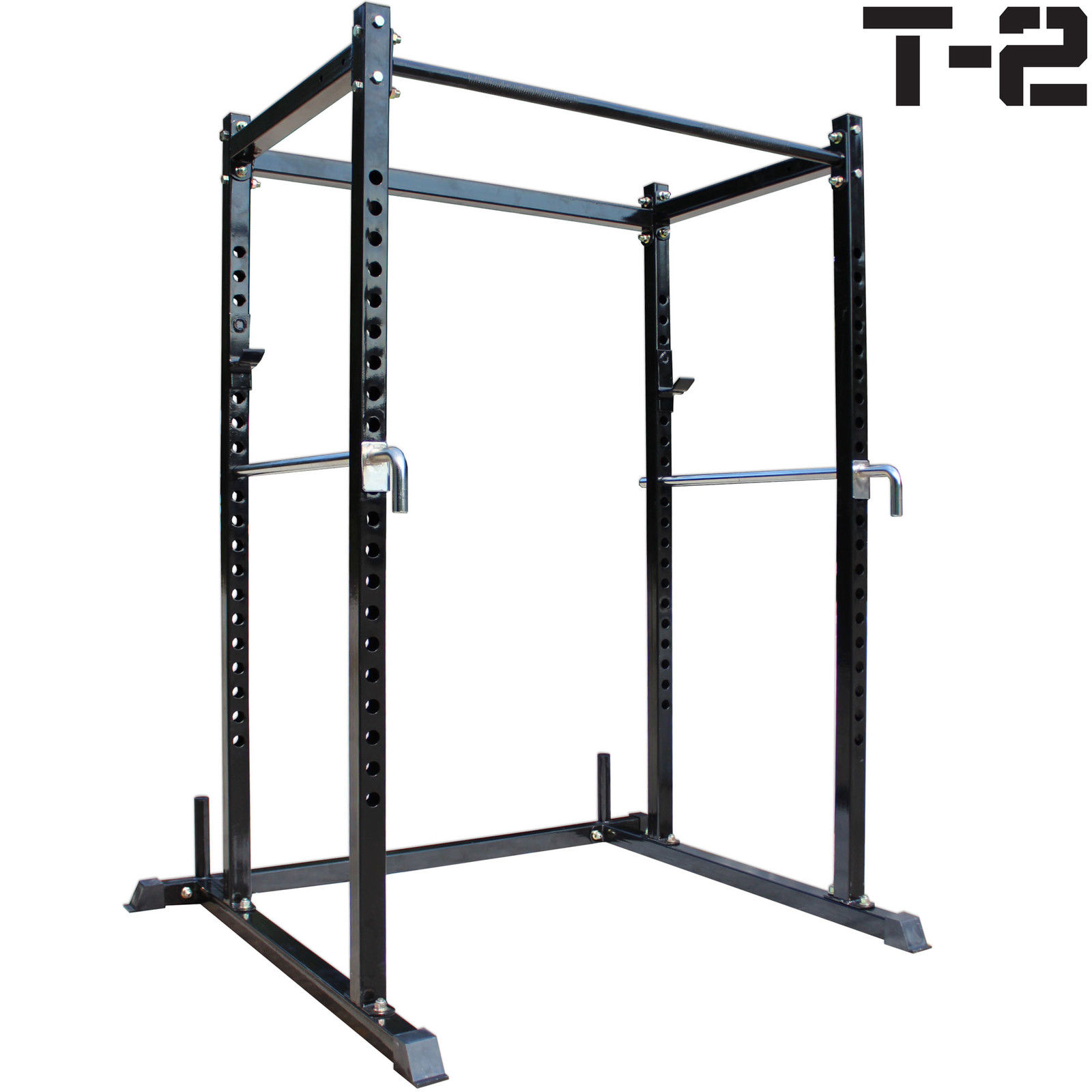 Titan T 2 Series Short Power Rack Squat Deadlift Cage Bench Cross Fit Pull Up Work Out Wear