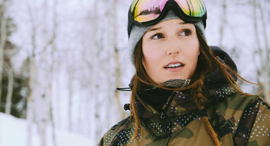 How a Professional Snowboarder Strengthens Her Core