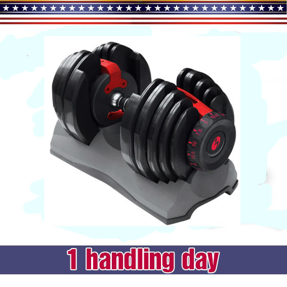 Bowflex 552 Adjustable Single 1 Dumbbell For Exercise And