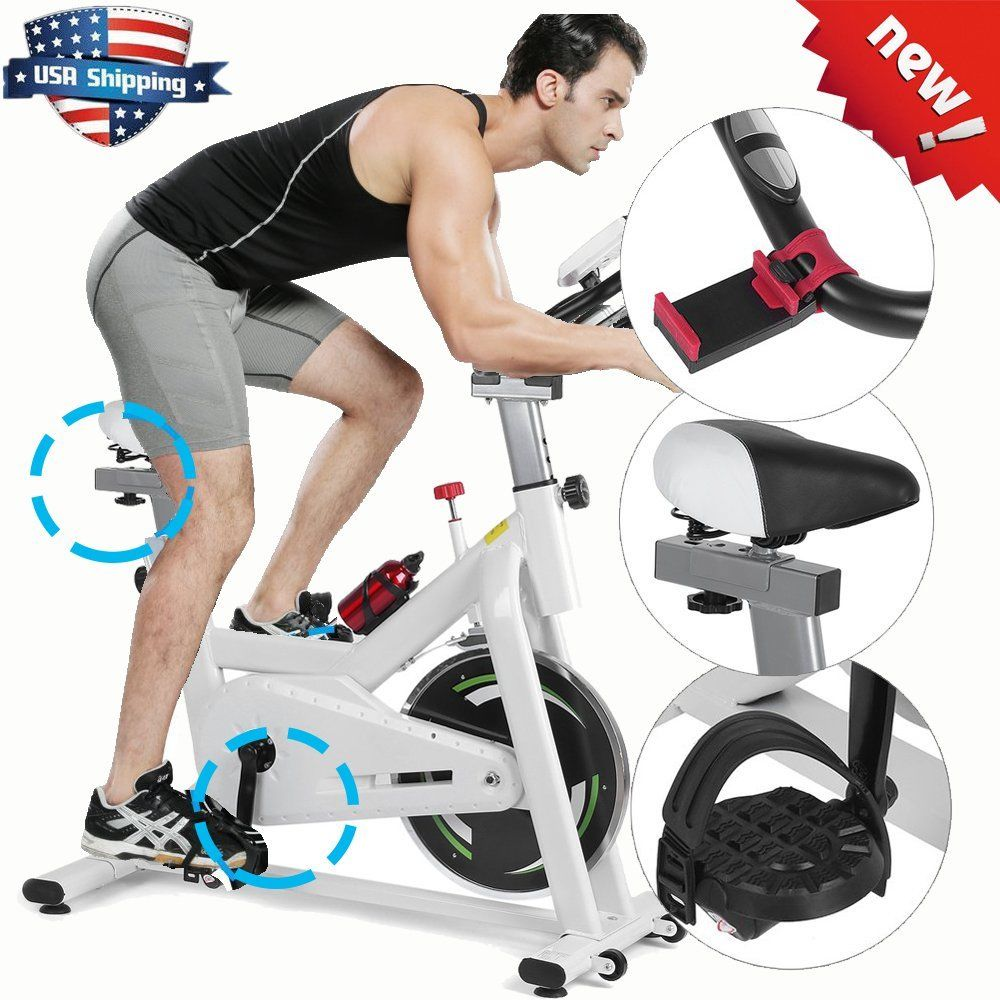 Cycling fitness gym bicycle exercise stationary bike