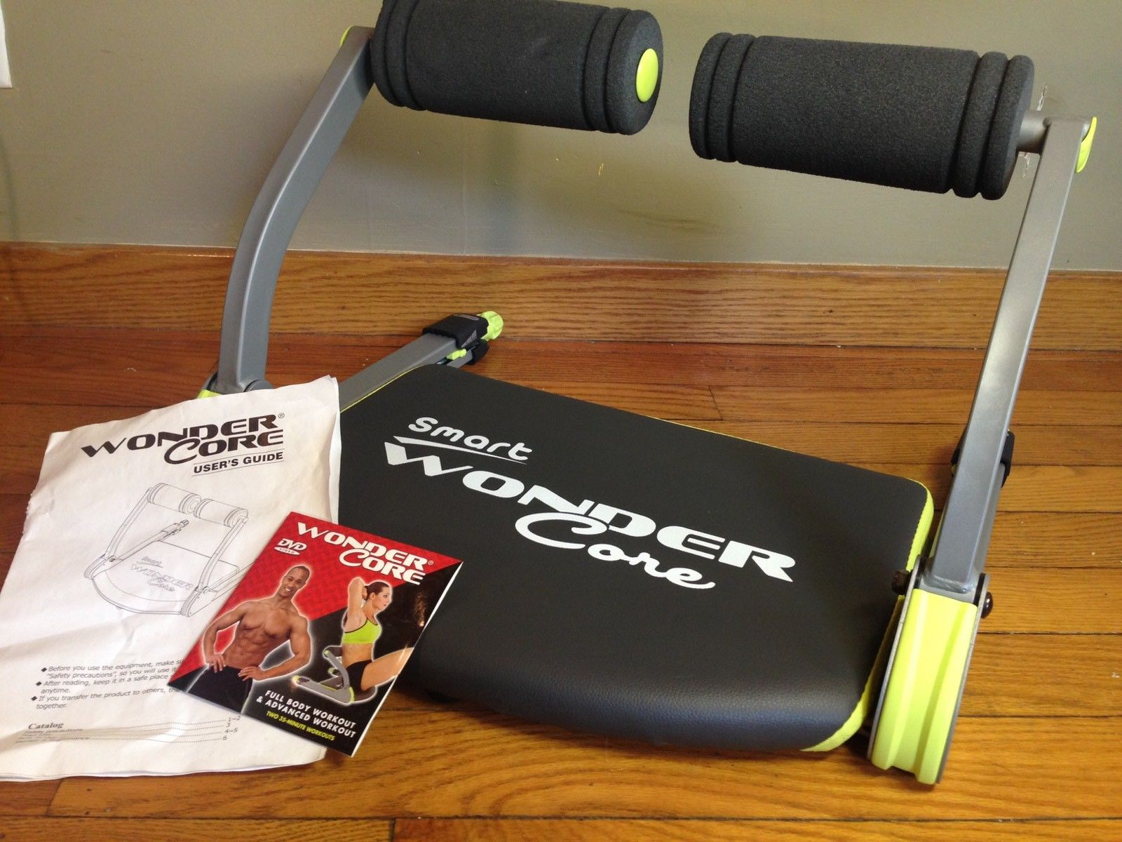 Smart Wonder Core W/DVD Ab Total Body Toning Fitness ...