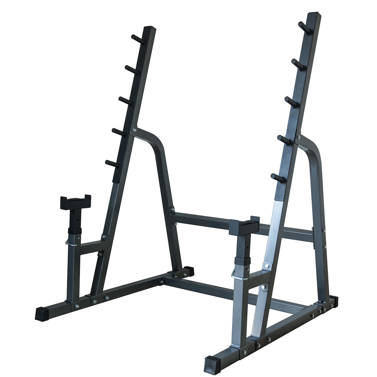 Deluxe Squat Bench Combo Rack Fitness Exercise Equipment Safety Function Set Work Out Wear