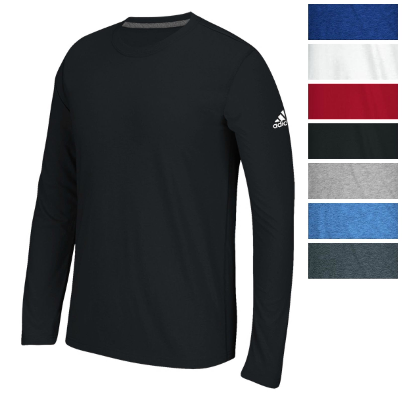 Adidas Men 39 S Long Sleeve Ultimate T Shirt Athletic Fit Tee