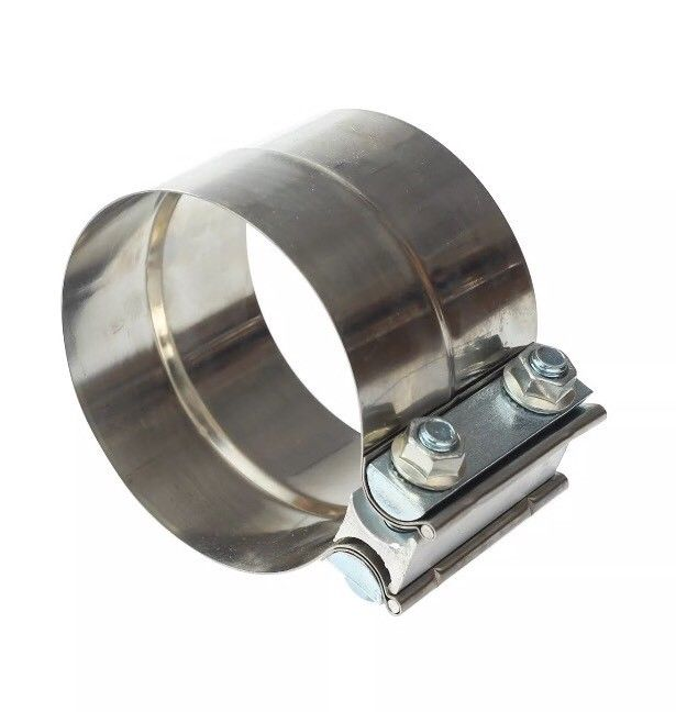 2.25″ Stainless Steel Lap Joint Band Exhaust Clamp made from high Grade T304 X 3