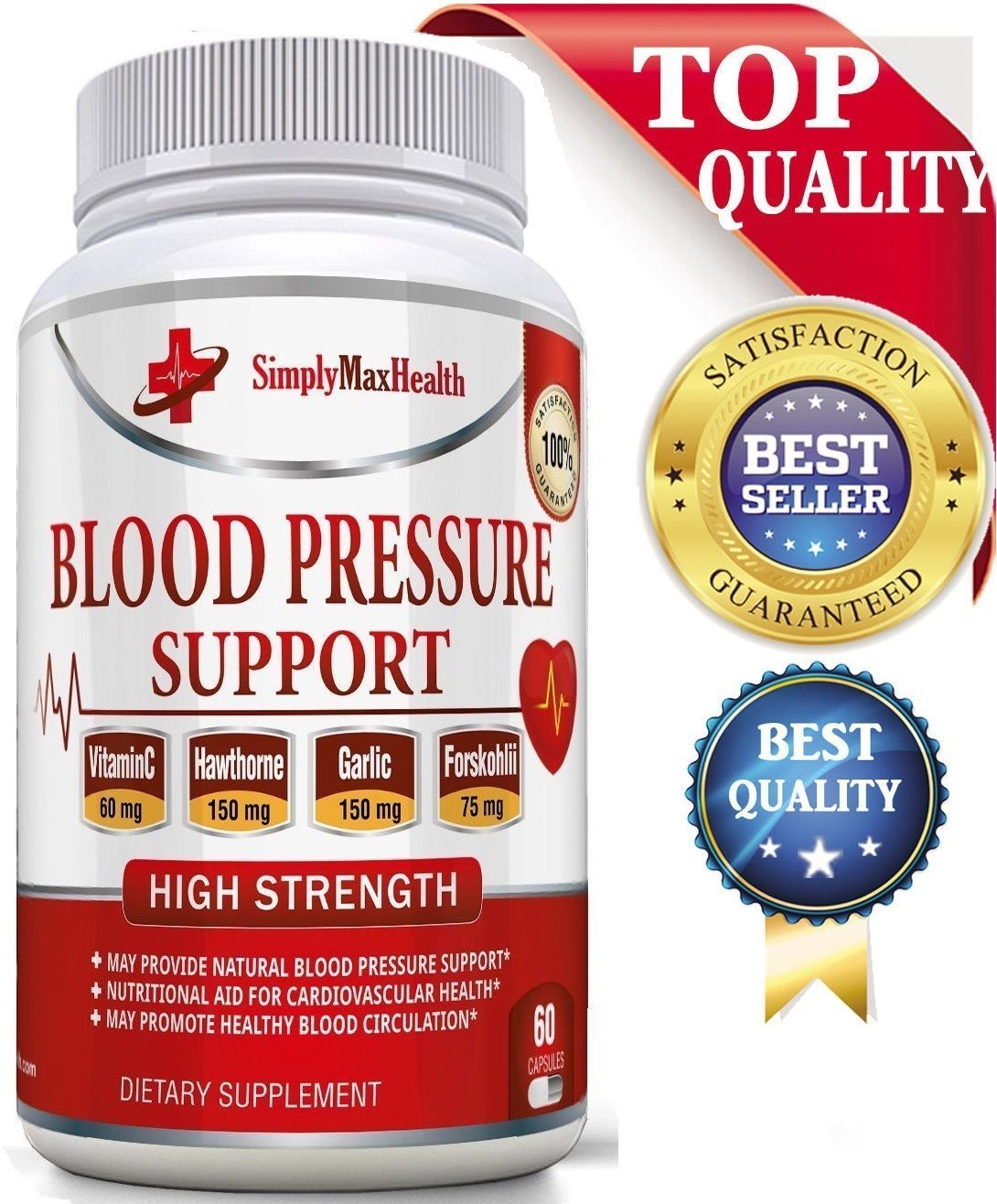 Health Natural Formula High Blood Pressure Supplement 30 Day Supply FAST SHIP