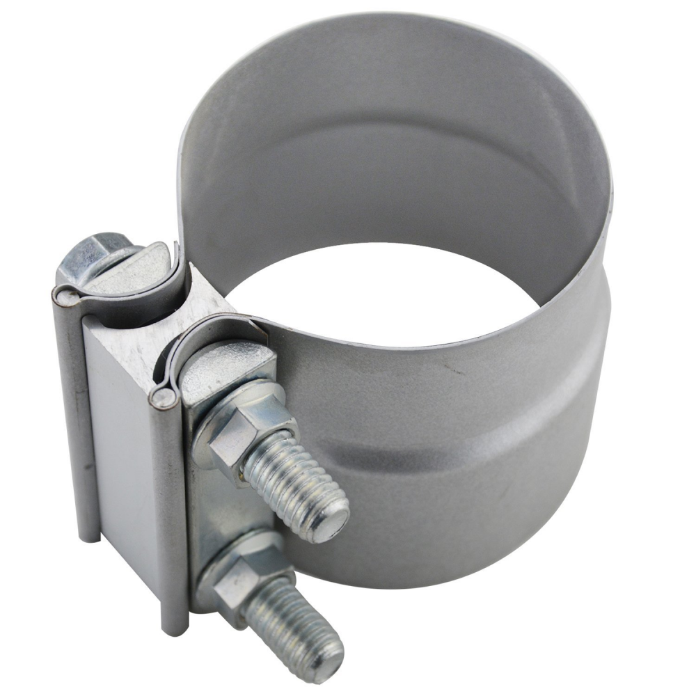 2.75″ Lap Joint Exhaust Band Clamp Preformed Aluminized Steel
