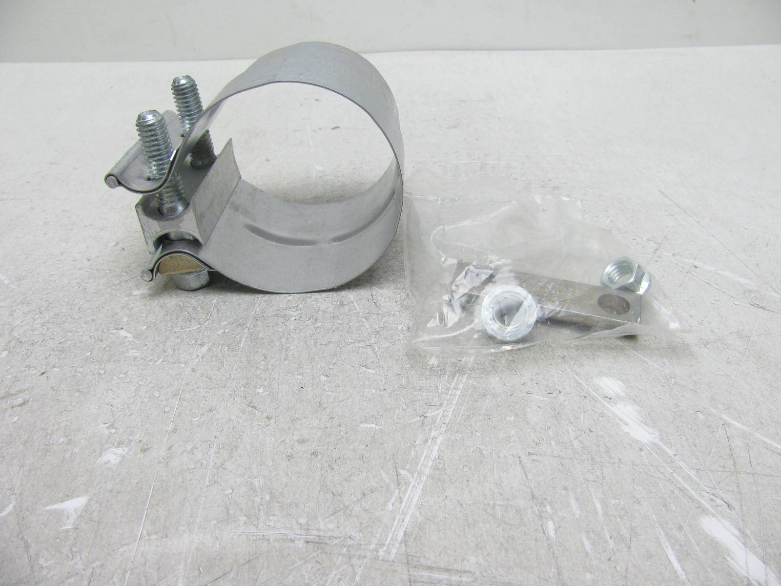 OEM Ford 2.75 In. Stainless Steel Lap Band Exhaust Clamp F2HZ5A231H