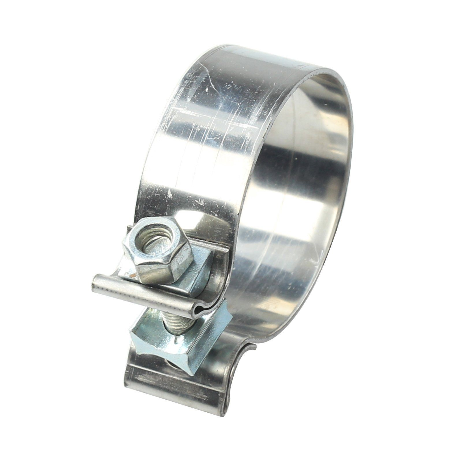 Stainless Steel Lap Joint Band Exhaust Clamp 1 75 Quot 2 Quot 2 25
