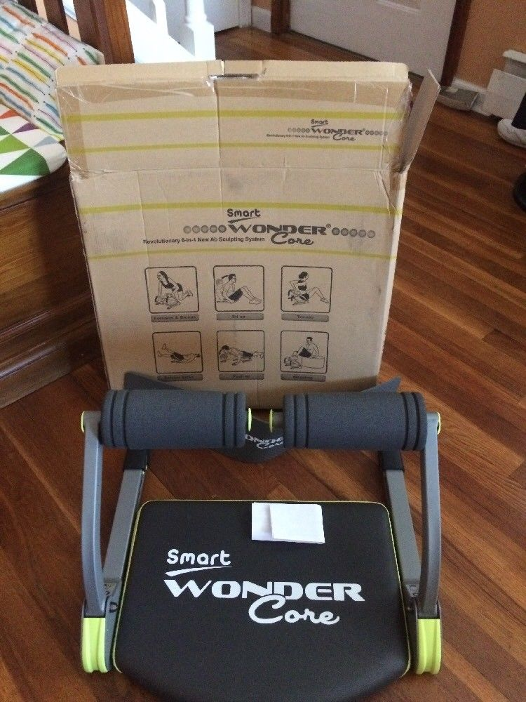 Wonder Core Smart 6-in-1 Body Workout Fitness Equipment Machine Exercise