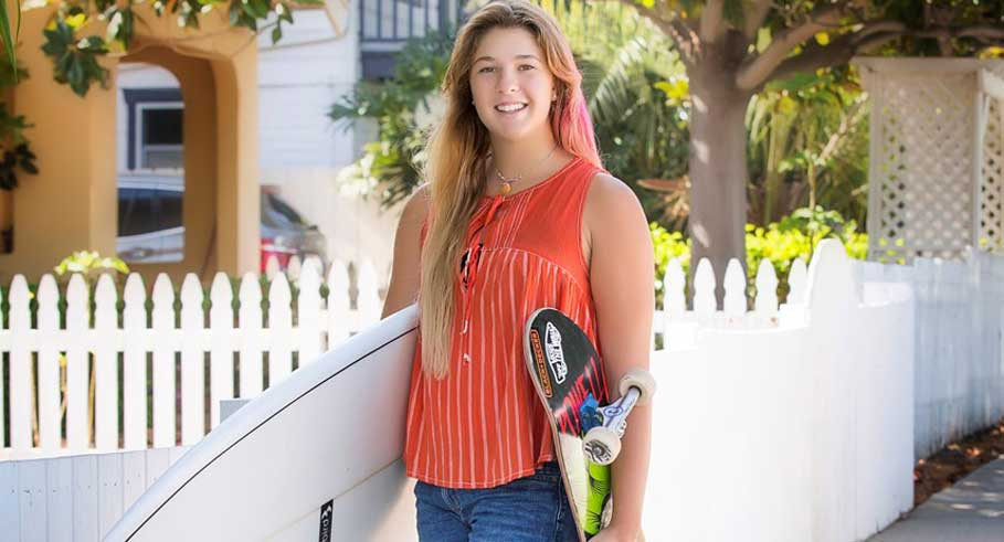 Meet Jordyn Barratt, 18-Year-Old Professional Skater and Surfer