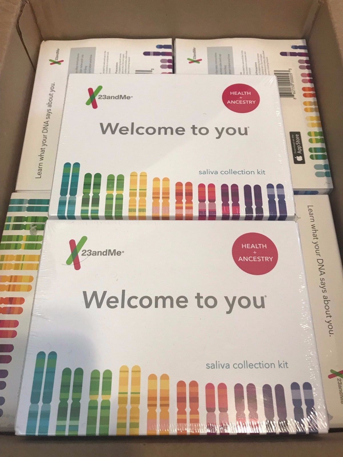 23andMe Personal Genetic Health + Ancestry Personal Genetic Service – SHIPS FAST
