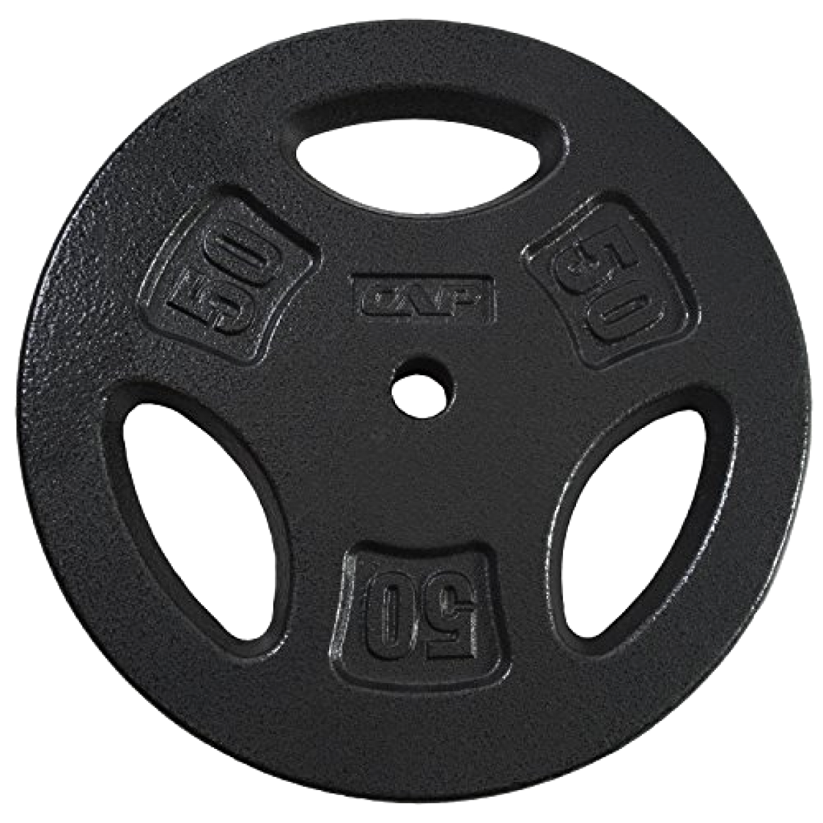CAP Barbell Standard Grip 1 inch Weight Plate for Dumbbells Gym 7.5 10 25 50 lb