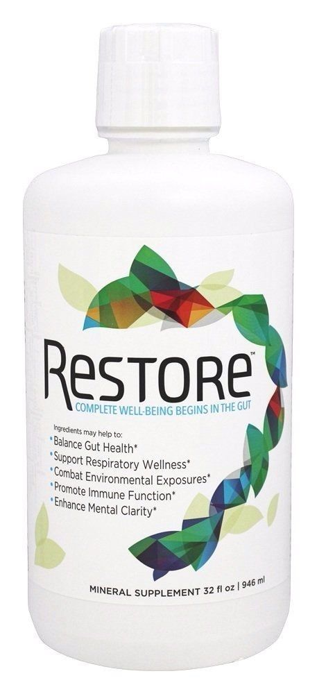 RESTORE complete well-being  For Gut Health 32 OZ
