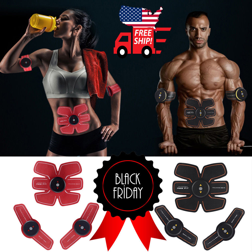 Ultimate ABS Simulator EMS Training Body Abdominal Muscle Exerciser AB
