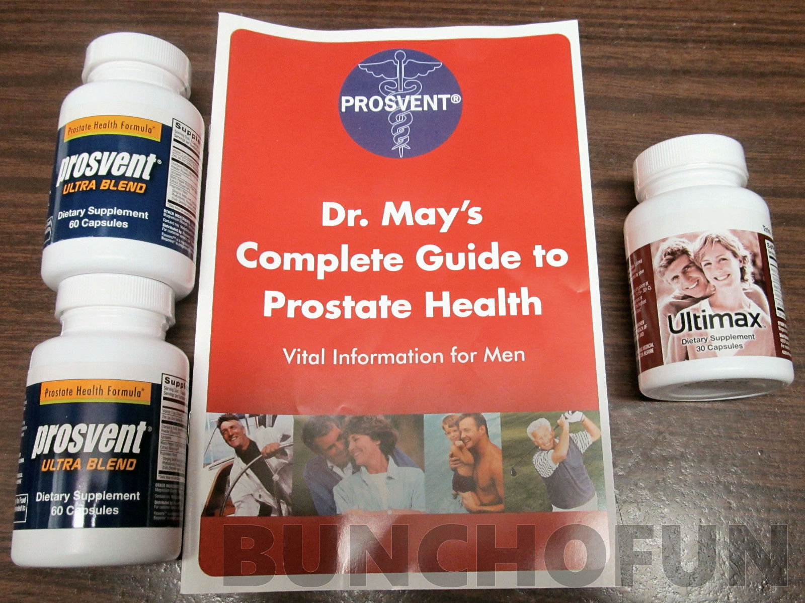 NEW Prosvent ULTRA Natural Prostate Health Supplement  2 Bottles + Ultimax Bonus