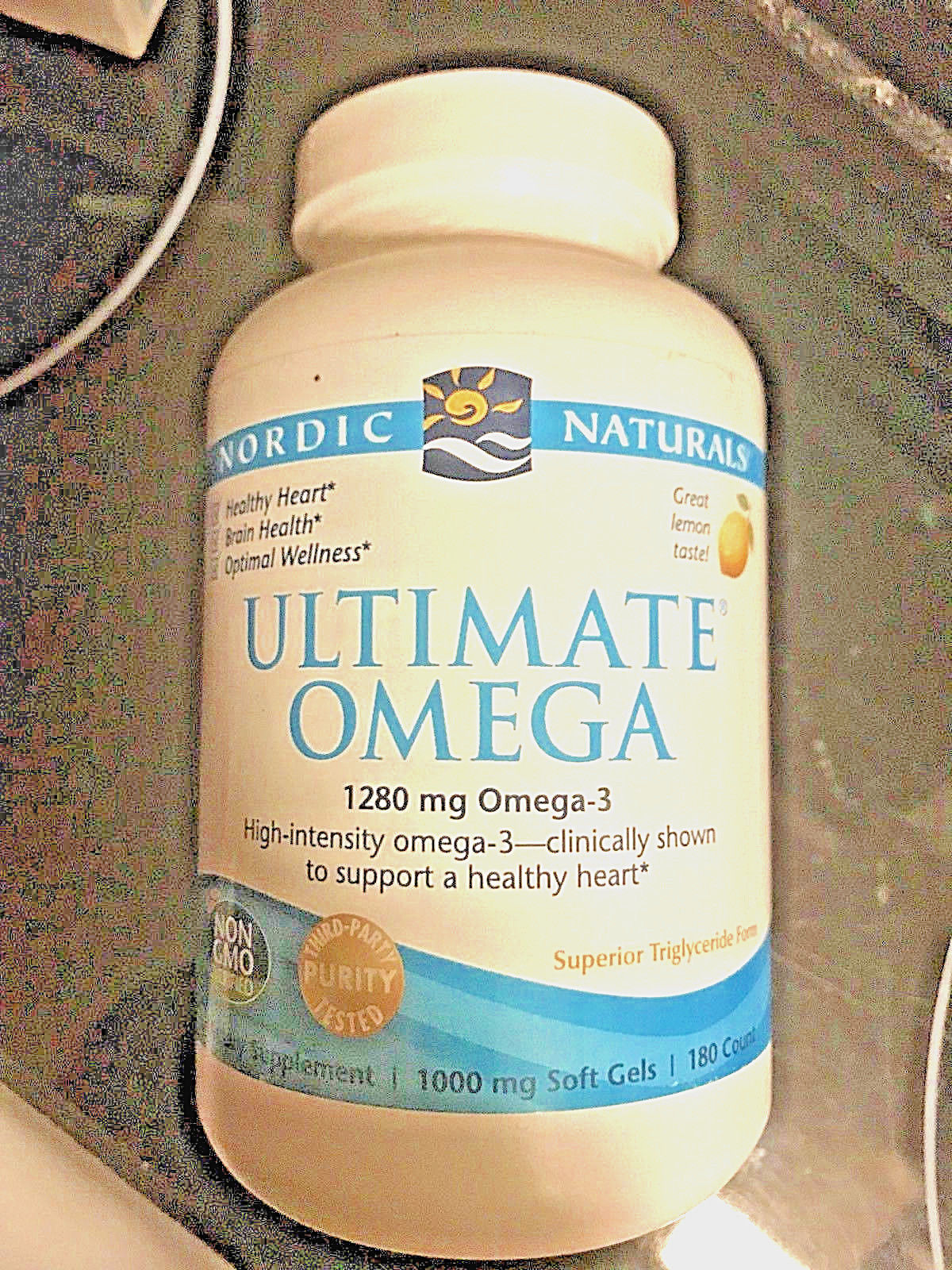 Nordic Naturals ULTIMATE OMEGA 180 softgels  NEW  Heart Health