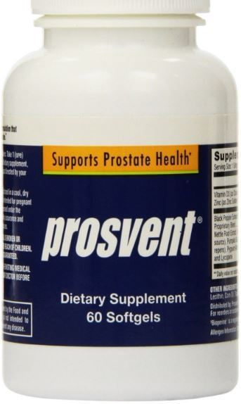 Prosvent Natural Prostate Health Supplement 60 Capsules